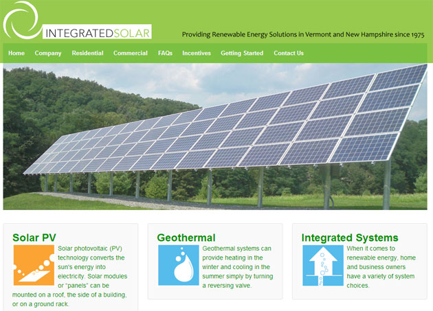 Integrated Solar Applications Corp. new website is launched